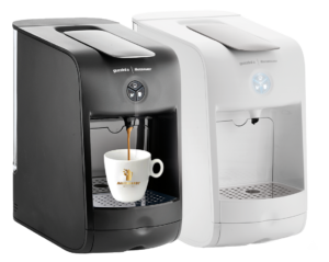 guzzini espresso hausbrandt crni beli kafemat