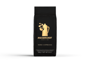 hausbrandt espresso nero vakuum 250g novo