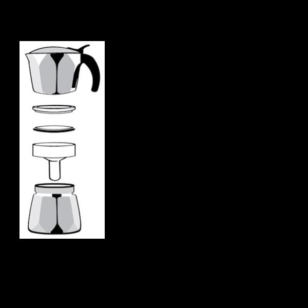 italijanska dzezva espreso hausbrandt