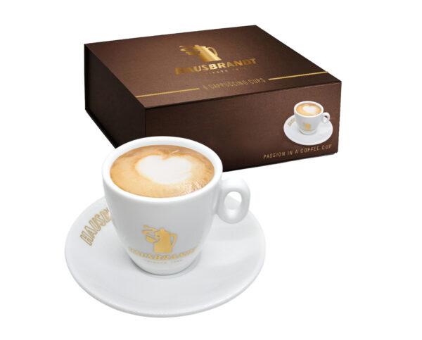 cappuccino cup hausbrandt espresso